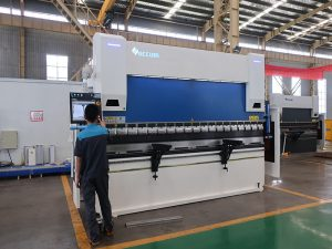 press brake with cnc control system