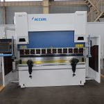 high precision 4+1 aixs cnc press brake bending machine with DA52S system