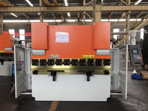 hydraulic press brake machine WC67K 125T durma press, 4M bending machine