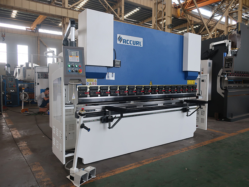press brake with multi-axis control