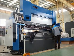heavy duty cnc electric-hydraulic proportion press brake