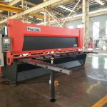 QC12K series hydraulic shearing machine