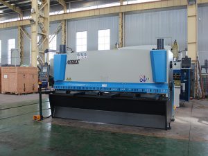 qc12y 4x3200 hydraulic shearing machine