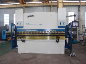 100 ton cnc press brake with hiwin ball screw
