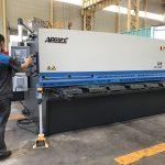 hydraulic sheet iron plate shearing machine, NC sheet metal shearing machine