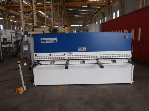cnc e21S QC12Y-6×3200 hydraulic shearing machine