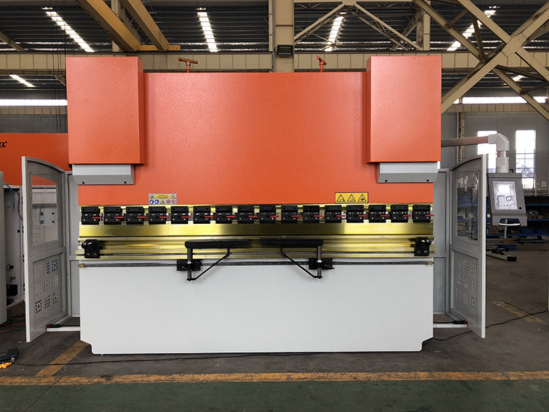 Wc67K-160t 3200mm hydraulic cnc press brake, press brake for