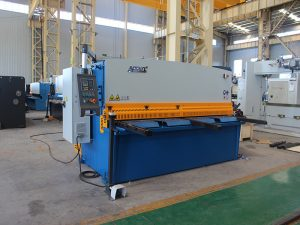 small shearing machine, QC12y- 4X2500 hydraulic metal plate shearing machine