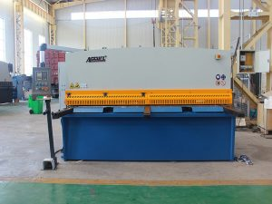 steel plate shearing machine