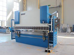 Wc67K 100t siemens motor servo bending machine sheet metal CNC hydraulic press brake with Da41 controller