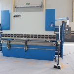WC67K series CNC hydraulic press brake