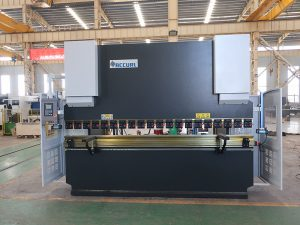 plate bending machine Wc67y 100t 3200 CNC stainless steel hydraulic press brake