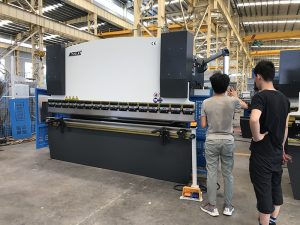 WC67Y-100T/3200 nc press brake, press break machine, hydraulic press brake