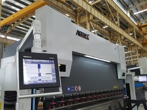 Delem DA52 hydraulic bending machine, accurate positional Horizontal press brake price, cnc angle iron