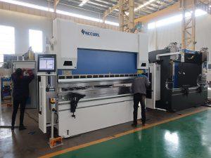 WC67K servo electric press brake,hydraulic bending machine,servo cnc metal bending machine